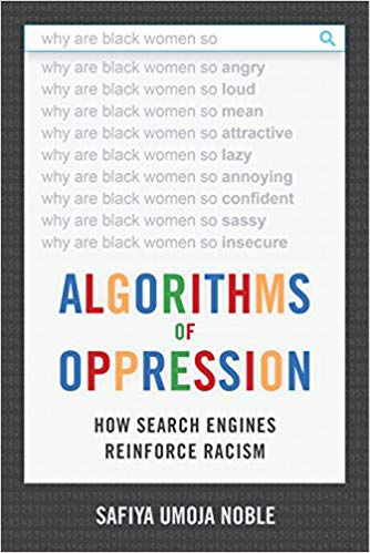 Cover for Algorithms of Oppression