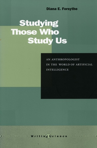 Cover for Studying Those Who Study Us