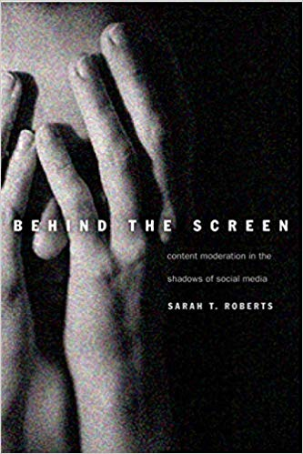 Cover for Behind the Screen