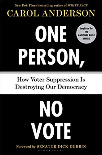 Cover for One Person, No Vote