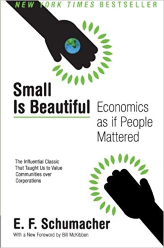 Cover for Small Is Beautiful: Economics as if people mattered