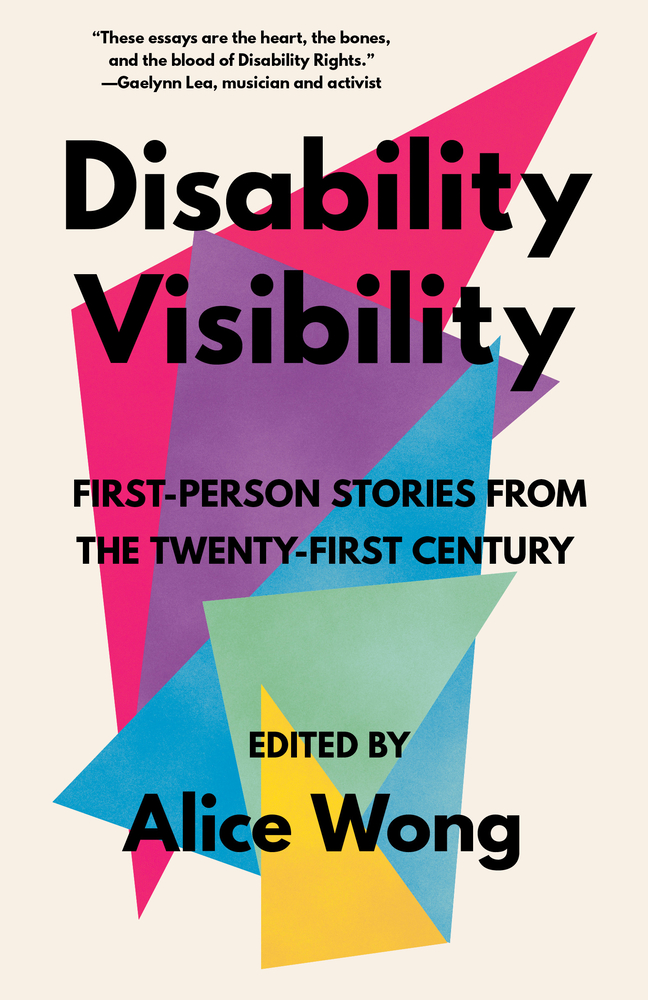 Cover for Disability Visibility